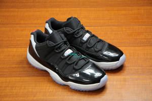 Air Jordan Retro 11 Low Black Cement 6/14 2014
