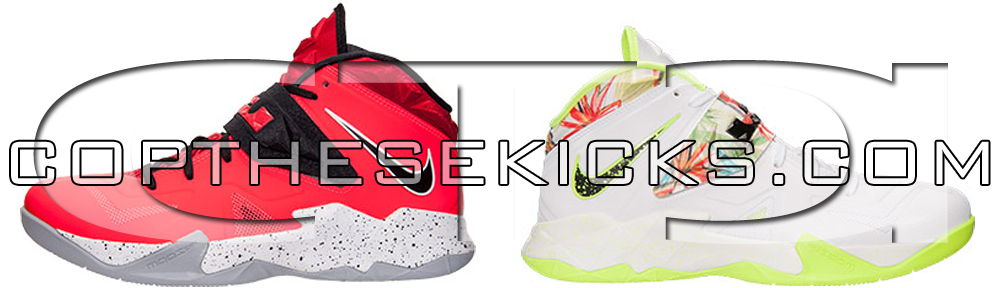 LeBron Soldier VII Laser Crimson and Palm Tree Release