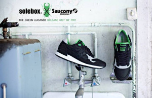 Solebox x Saucony Shadow 5000 Green Lucanid