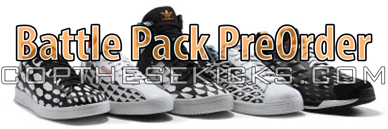 Adidas Battle Pack Pre-Order