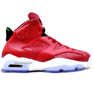 Air Jordan Retro 6 Spizike History Of Jordan Varsity Red