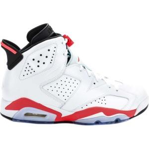 Air Jordan Retro 6 White Infrared 23
