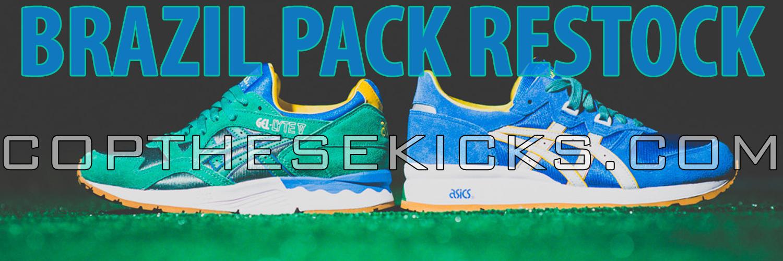 Asics Brazil Pack Restock