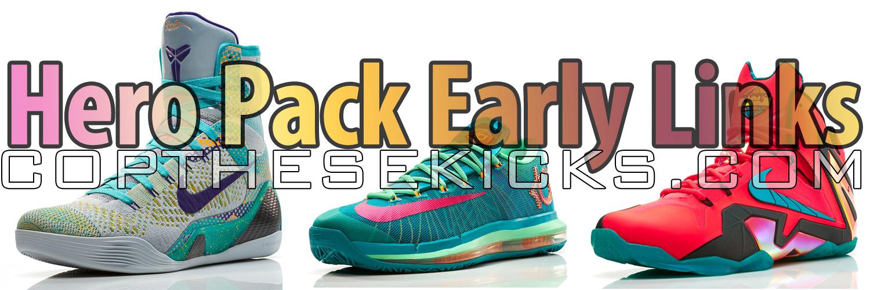 Nike Elite Hero Pack Early Links