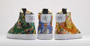 Nike Blazer mid QS Floral City Pack