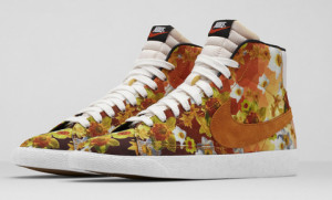 Nike Blazer mid QS Floral City New York