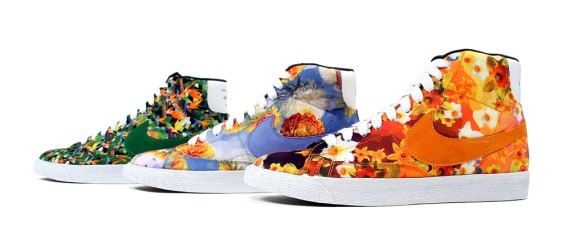 best website a6eb4 55c0e Nike Blazer Mid Floral QS City LA, New York, Chicago