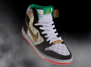 Nike SB Dunk Black Sheep Gucci Paid In Full