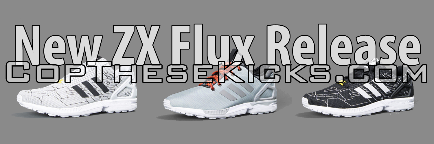 3 New ZX Flux Prints coming in August