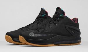 LeBron 11 Black Gum