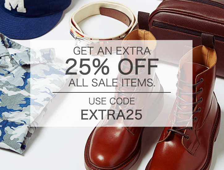25% Off Sale at END