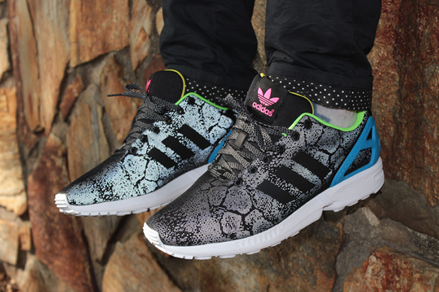 buy online 8c588 03587 ... get adidas originals zx flux reflective snake pack 2 d695b bc15d