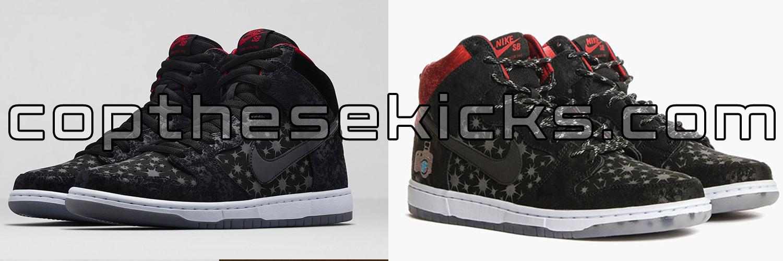 Brooklyn Projects x Nike SB Release Comparison