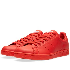 Adidas Consortium x Pharrell Williams Solid Pack Staan Smith Red
