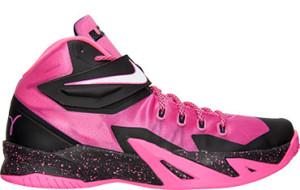 Nike LeBron Zoom Soldier 8 Kay Yow Pink