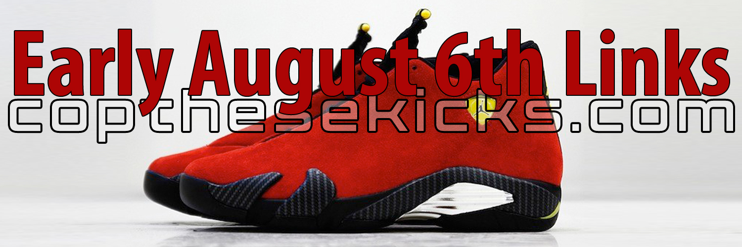 August 6th Early Links