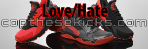 Nike Air Hurarche Love Hate Pack
