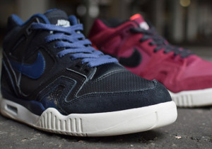 Nike Air Tech Challenge II Burgundy Midnight Navy Ivory