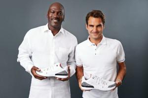 Michael Jordan Roger Federer Zoom Vapor AJ3