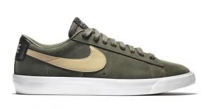 GT Nike SB Blazer Low Khaki Cargo