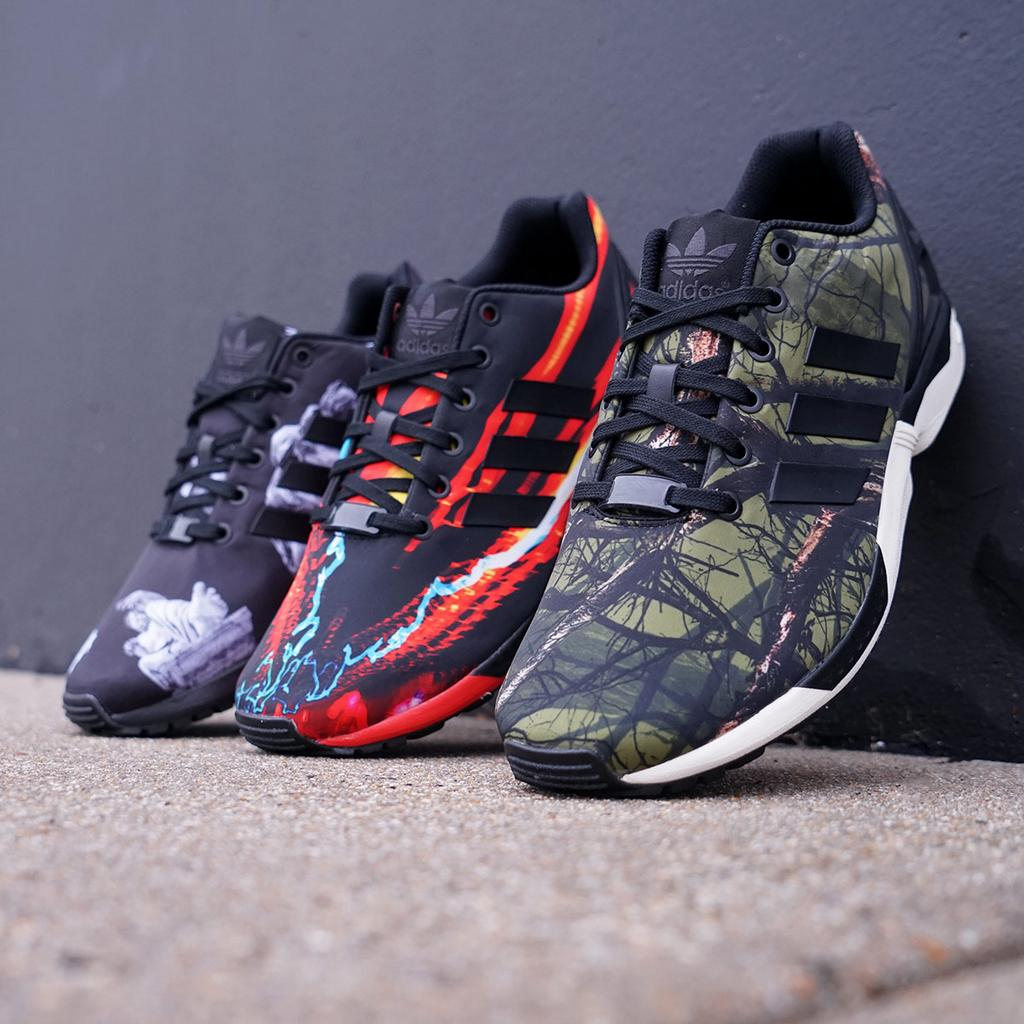 5ac0e7791 Adidas ZX Flux Holiday Photo Print Pack - Cop These Kicks