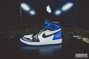 Fragment x Air Jordan Retro 1