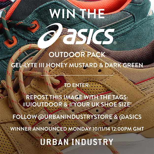 Urban Industry Asics Giveaway