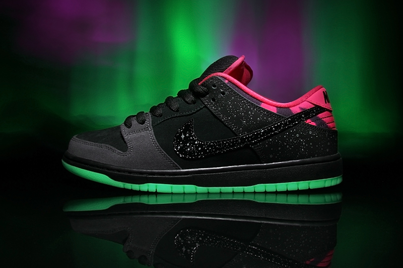 Premier x Nike Dunk Northern Lights Release