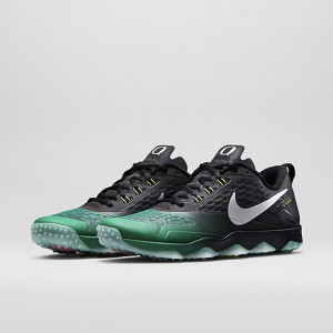 Nike Zoom Hypercross TR Oregon Ducks Kelly Green