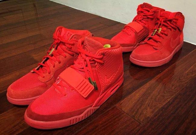 official photos e02a5 0ecb0 Nike Dunk High CMFT PRM Yeezy Red October