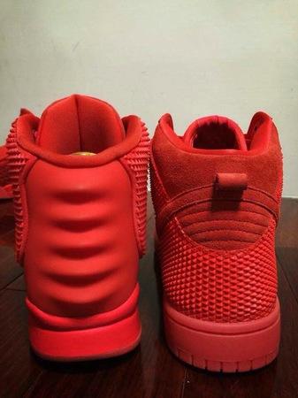 official photos 23321 331ba Nike Dunk High CMFT PRM Yeezy Red October