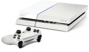 Glacier White Playstation 4 PS4 on sale
