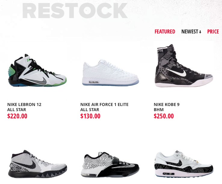 ... of kicks including the Kyrie 1 BHM and more. Citygear February Restock  · LeBron 12 All Star 1d700fc9b6