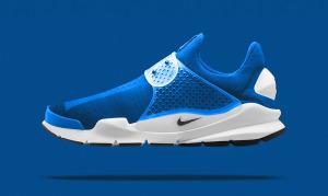 Fragment x Nike Sock Dart SP Photo Blue