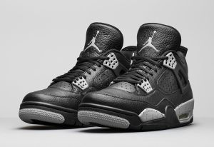 Air Jordan Retro 4 Tech Grey Oreo 314254-003