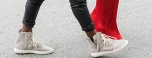 Yeezy 750 Boost Yeezy 3 Yeezi Kanye X Adidas On Foot