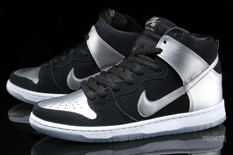 99fe82ad6e0 Nike SB Dunk High Pro Metallic Silver Release - Cop These Kicks