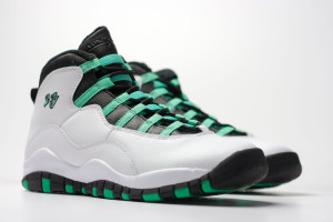 Air Jordan Retro 10 Double Nickel Verde GS 705180-118