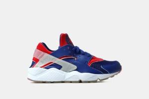 """Nike Air Huarache - Blue/Red """"London"""" 704830-460"""