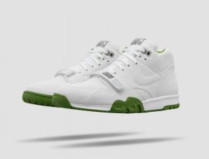 Fragment x Nike COurt Ait Trainer 1 Wimbledon White