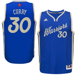 Steph Curry Alternate Christmas Jersey NBA