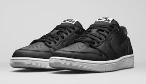 Air Jordan Retro 1 OG Low Black White 705329-010