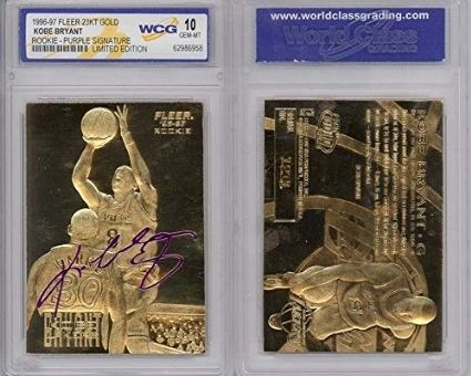#RESTOCK – Kobe Bryant 23k Gold Signature Rookie Card – Under $10 with Free Shipping