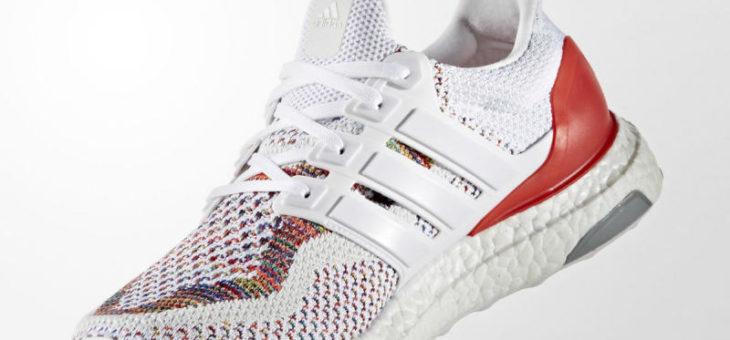 e0261f1eb Adidas Ultra Boost Multicolor White Red