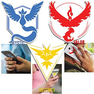 #PokemonGo Team Decals for under $4 – Free Shipping