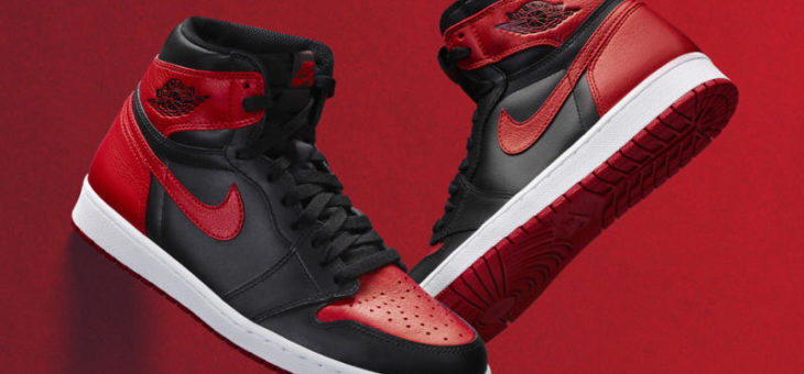 "Jordan Retro 1 Bred ""Banned"" Release Links"