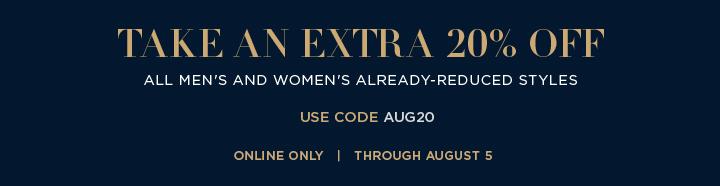 Extra 20% off Ralph Lauren