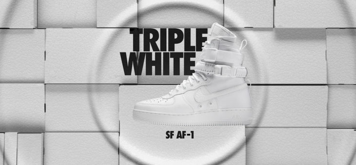 """Nike Air Force 1 """"Special Field"""" Triple White Release Links b7e99e2a9"""