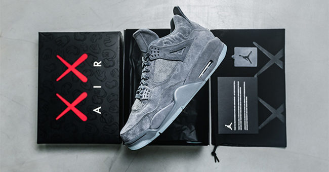 Another Chance to Cop the KAWS x Jordan Retro 4