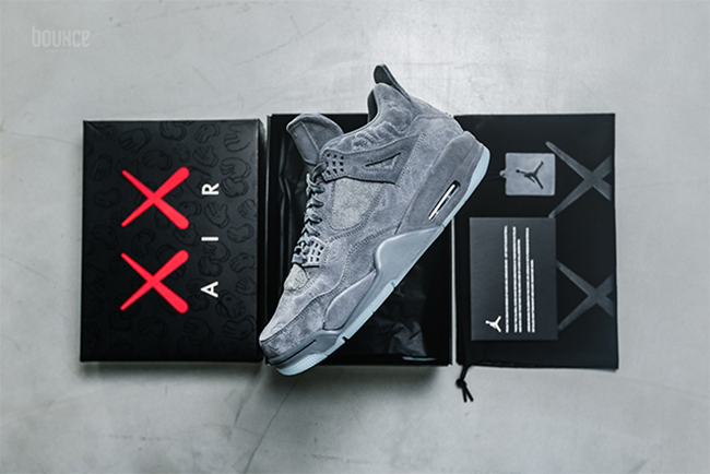 3b3a3411cfe A special edition KAWS shoebox and dust bag is just the beginning with  these kicks. KAWS iconic designs subtly cover the premium suede upper and  beneath the ...